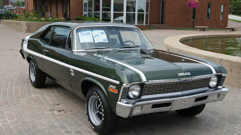1972 Chevrolet Nova 350/360 HP, 4-Speed presented as lot F207 at St. Charles, IL 2011 - image10