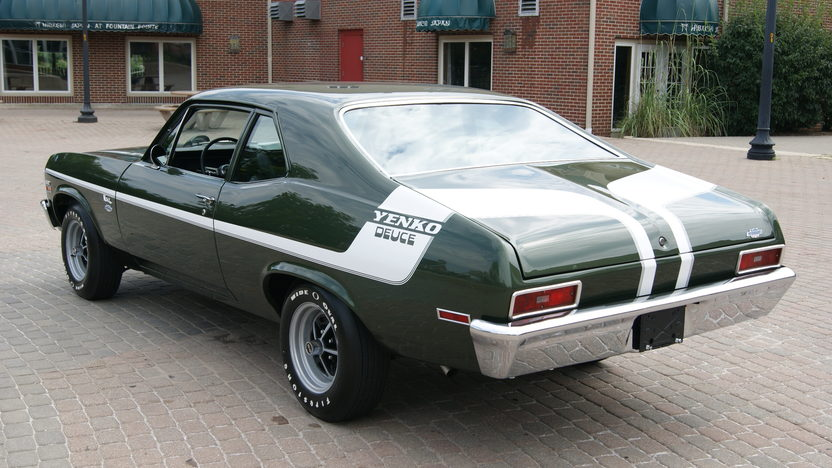 1972 Chevrolet Nova 350/360 HP, 4-Speed presented as lot F207 at St. Charles, IL 2011 - image2