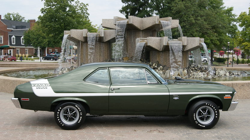 1972 Chevrolet Nova 350/360 HP, 4-Speed presented as lot F207 at St. Charles, IL 2011 - image5