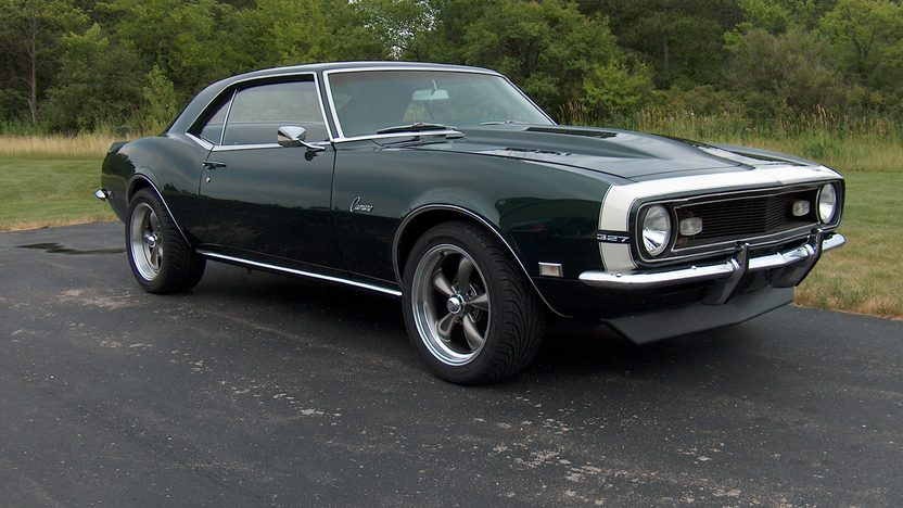 1968 Chevrolet Camaro 375/561 HP, 4-Speed presented as lot F209 at St. Charles, IL 2011 - image7