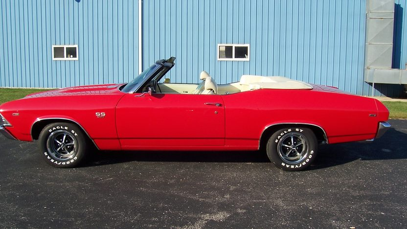 1969 Chevrolet Chevelle SS Convertible 396 CI, 4-Speed presented as lot F211 at St. Charles, IL 2011 - image2