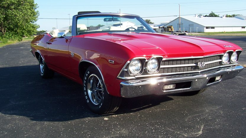 1969 Chevrolet Chevelle SS Convertible 396 CI, 4-Speed presented as lot F211 at St. Charles, IL 2011 - image3