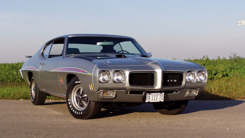 1970 Pontiac GTO Judge 400/366 HP, 4-Speed presented as lot F213 at St. Charles, IL 2011 - image3