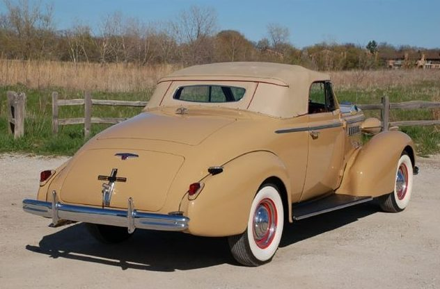 1938 Buick Century Convertible 320/141 HP, 3-Speed presented as lot F215 at St. Charles, IL 2011 - image2
