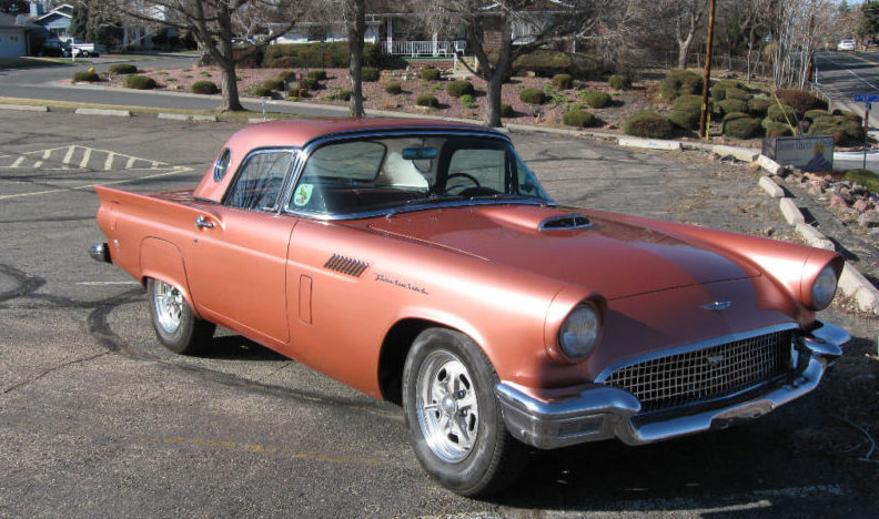 1957 Ford Thunderbird 340/350 HP, Automatic presented as lot F218 at St. Charles, IL 2011 - image8