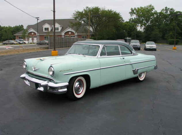 1954 Lincoln  Coupe 317 CI, Automatic presented as lot F219 at St. Charles, IL 2011 - image2