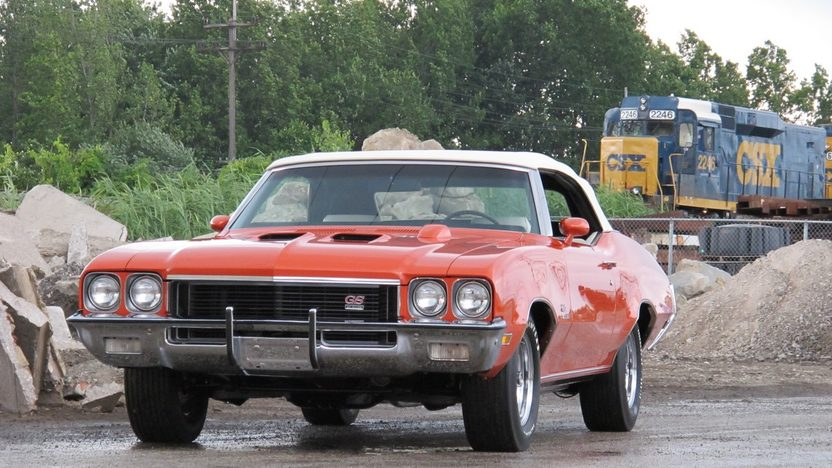 1972 Buick GS Stage 1 Convertible 455 CI, Automatic presented as lot F225 at St. Charles, IL 2011 - image2