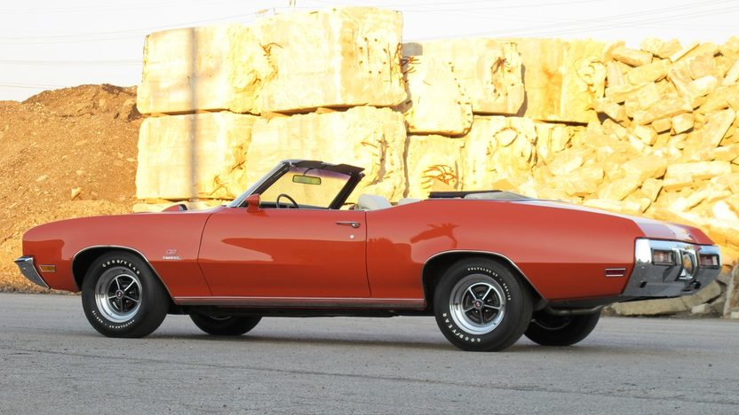 1972 Buick GS Stage 1 Convertible 455 CI, Automatic presented as lot F225 at St. Charles, IL 2011 - image8