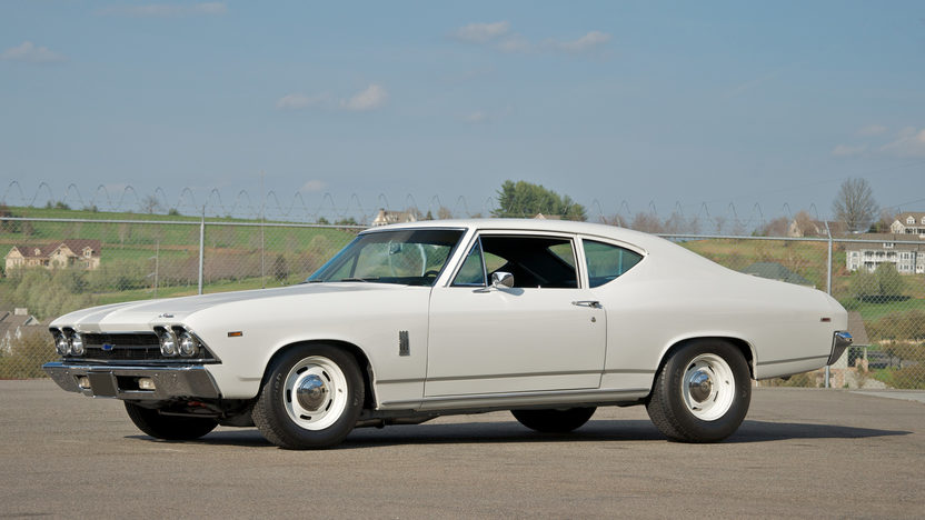 1969 Chevrolet Chevelle 300 Deluxe 396/375 HP, Automatic presented as lot F228 at St. Charles, IL 2011 - image4