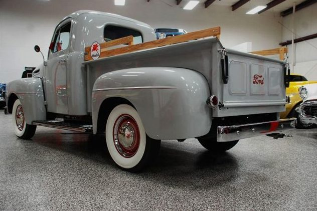 1950 Ford F1 Pickup 239 CI, 4-Speed presented as lot F230 at St. Charles, IL 2011 - image3