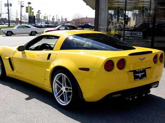 2006 Chevrolet Corvette Lingenfelter 427/600 HP, Automatic presented as lot F242 at St. Charles, IL 2011 - image2