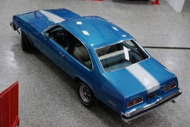 1975 Pontiac Sprint 350 CI, Automatic presented as lot F243 at St. Charles, IL 2011 - image2