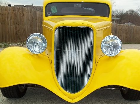 1933 Ford  Coupe 468 CI, Automatic presented as lot F250 at St. Charles, IL 2011 - image3
