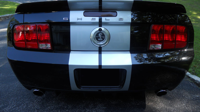 2007 Shelby GT500 Convertible 500 HP, 6-Speed presented as lot F252 at St. Charles, IL 2011 - image2