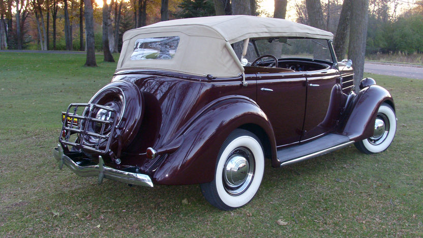 1936 Ford Phaeton 4-Door 221/85 HP, 3-Speed presented as lot F269 at St. Charles, IL 2011 - image3