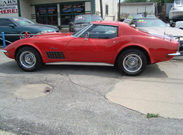 1971 Chevrolet Corvette 454 CI, Automatic presented as lot F272 at St. Charles, IL 2011 - image2