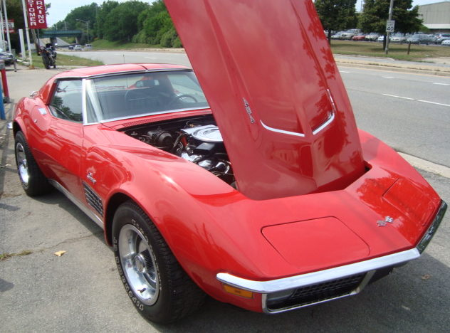 1971 Chevrolet Corvette 454 CI, Automatic presented as lot F272 at St. Charles, IL 2011 - image4