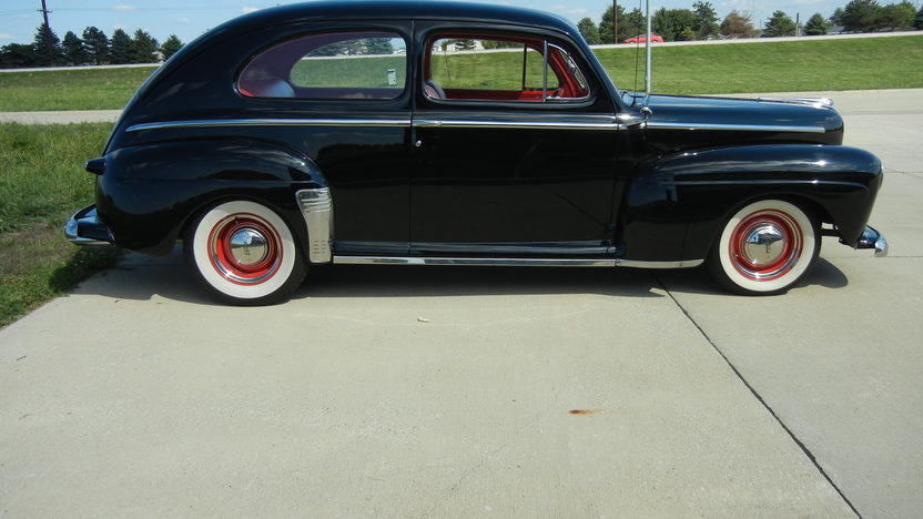 1948 Ford Super Deluxe 2-Door Sedan 350/300 HP, Automatic presented as lot S9 at St. Charles, IL 2011 - image2