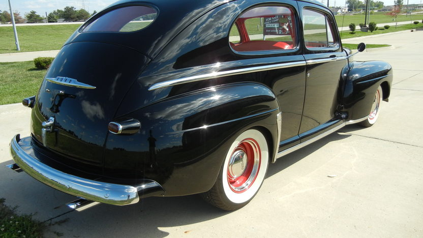 1948 Ford Super Deluxe 2-Door Sedan 350/300 HP, Automatic presented as lot S9 at St. Charles, IL 2011 - image3