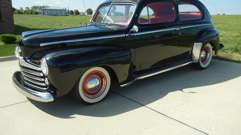 1948 Ford Super Deluxe 2-Door Sedan 350/300 HP, Automatic presented as lot S9 at St. Charles, IL 2011 - image8