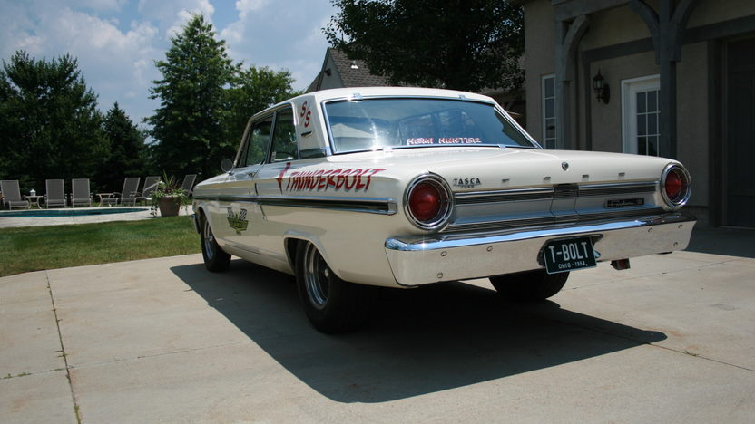 1964 Ford Fairlane Thunderbolt Replica 427/425 HP, 4-Speed presented as lot S16 at St. Charles, IL 2011 - image3