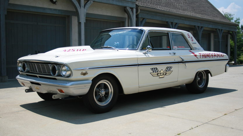 1964 Ford Fairlane Thunderbolt Replica 427/425 HP, 4-Speed presented as lot S16 at St. Charles, IL 2011 - image4