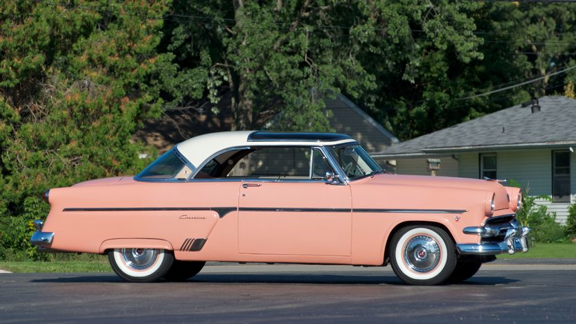 1954 Ford Crestline Skyliner Glasstop 292 CI presented as lot S18 at St. Charles, IL 2011 - image3