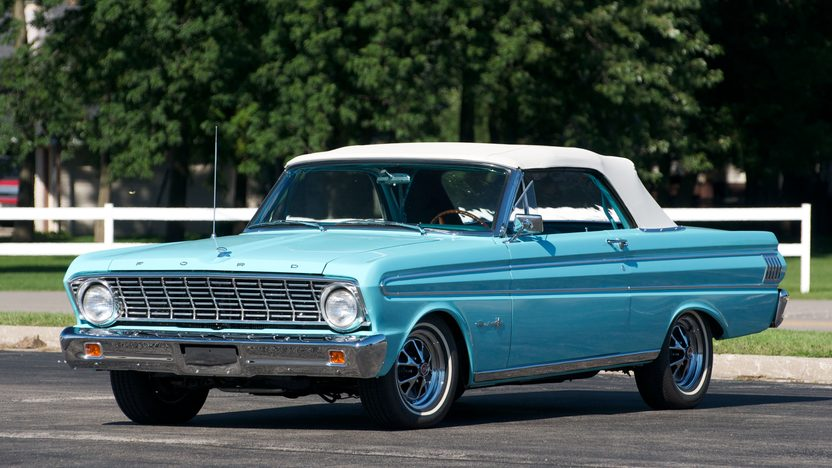 1964 Ford Falcon Sprint Convertible 292 CI, Automatic presented as lot S19 at St. Charles, IL 2011 - image2