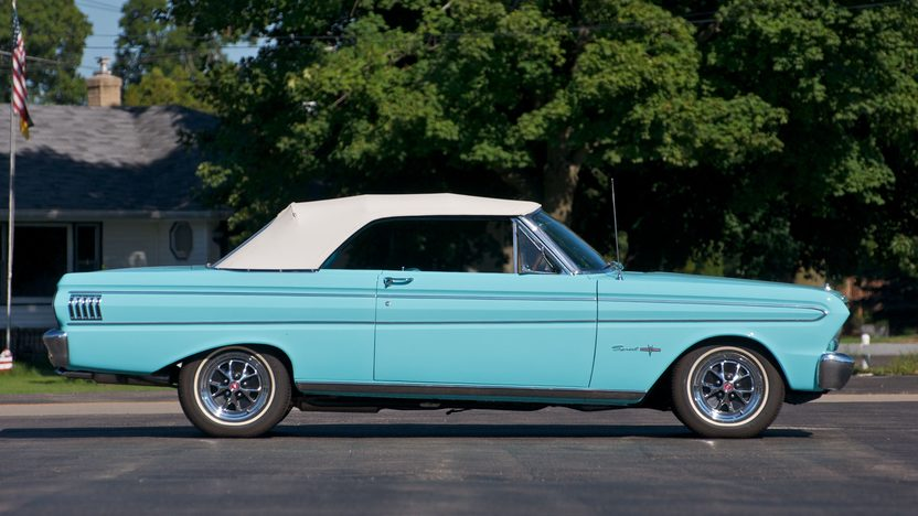 1964 Ford Falcon Sprint Convertible 292 CI, Automatic presented as lot S19 at St. Charles, IL 2011 - image3