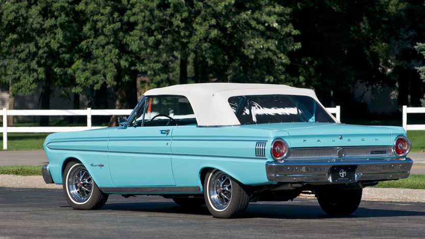 1964 Ford Falcon Sprint Convertible 292 CI, Automatic presented as lot S19 at St. Charles, IL 2011 - image4