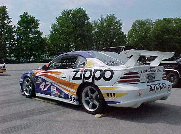1994 Ford Mustang Saleen IMSA Race Car 351 CI, 4-Speed presented as lot S22 at St. Charles, IL 2011 - image2