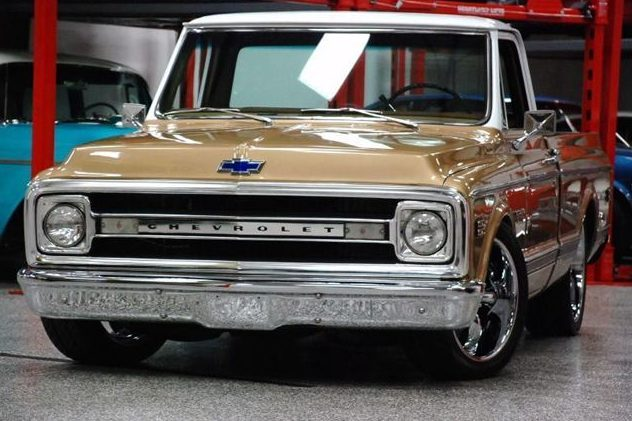 1970 Chevrolet C15 CST Pickup 396/375 HP, Automatic presented as lot S34 at St. Charles, IL 2011 - image4