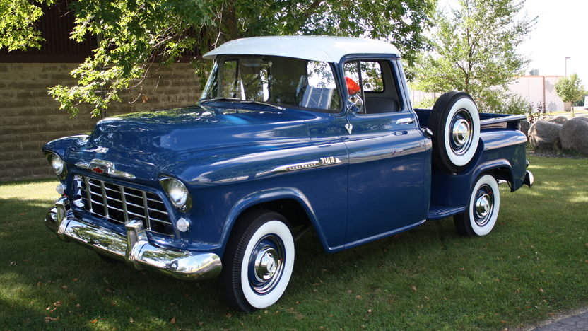 1956 Chevrolet 3100 Pickup 235 CI, 3-Speed presented as lot S37 at St. Charles, IL 2011 - image2