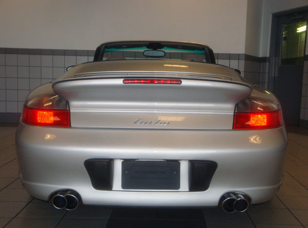 2004 Porsche 911 Turbo Cabriolet 3.6/450 HP, 6-Speed presented as lot S38 at St. Charles, IL 2011 - image2