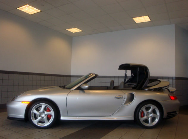 2004 Porsche 911 Turbo Cabriolet 3.6/450 HP, 6-Speed presented as lot S38 at St. Charles, IL 2011 - image3