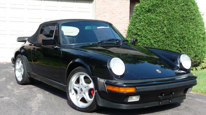 1987 Porsche 911 Carrera Cabriolet 3.2L, 5-Speed presented as lot S47 at St. Charles, IL 2011 - image2