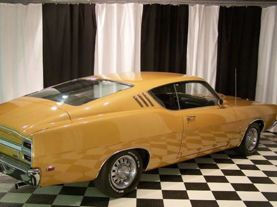 1969 Ford Torino CJ 428 CI, Automatic presented as lot S51 at St. Charles, IL 2011 - image2