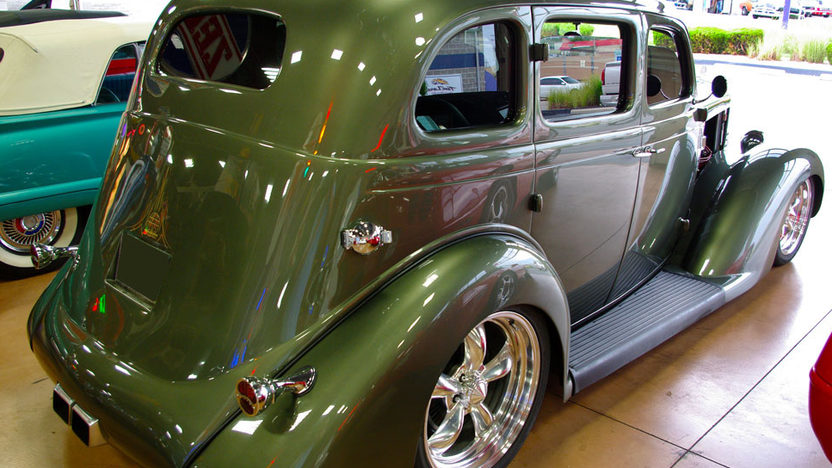 1935 Plymouth Sedan Street Rod 400 CI, Automatic presented as lot S58 at St. Charles, IL 2011 - image2