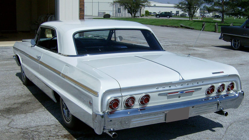1964 Chevrolet Impala SS 409/340 HP, 4-Speed presented as lot S65 at St. Charles, IL 2011 - image2