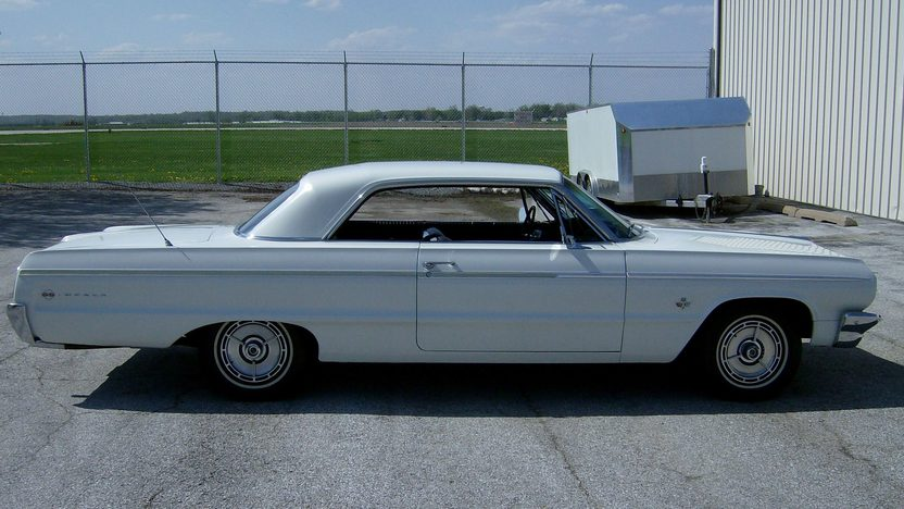 1964 Chevrolet Impala SS 409/340 HP, 4-Speed presented as lot S65 at St. Charles, IL 2011 - image3