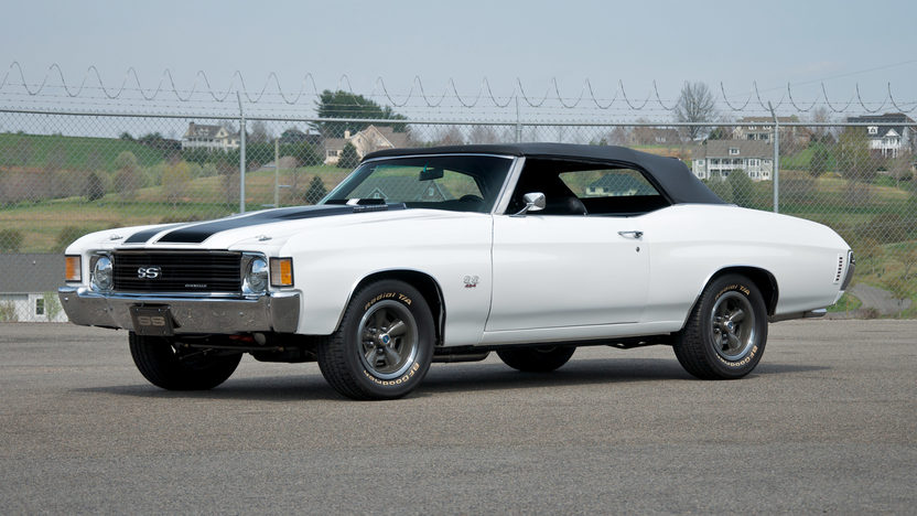 1972 Chevrolet Chevelle SS Convertible 454 CI, 4-Speed presented as lot S72 at St. Charles, IL 2011 - image3