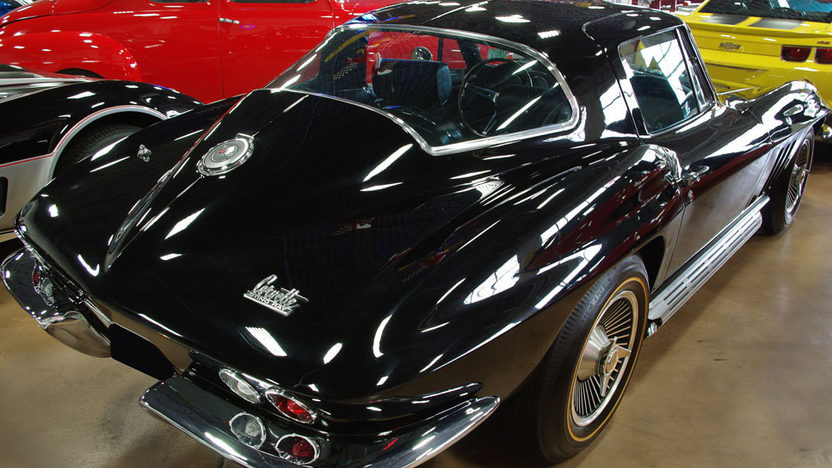 1966 Chevrolet Corvette Coupe 327/350 HP presented as lot S73 at St. Charles, IL 2011 - image2