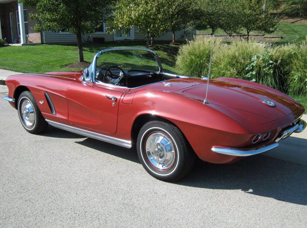 1962 Chevrolet Corvette Convertible 327 CI, 4-Speed presented as lot S75 at St. Charles, IL 2011 - image3