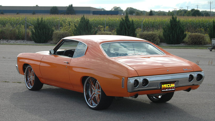 1972 Chevrolet Chevelle 660 HP, Automatic presented as lot S230 at St. Charles, IL 2011 - image4