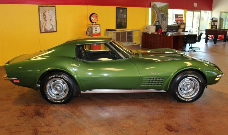 1972 Chevrolet Corvette 454 CI, 4-Speed presented as lot S78 at St. Charles, IL 2011 - image2