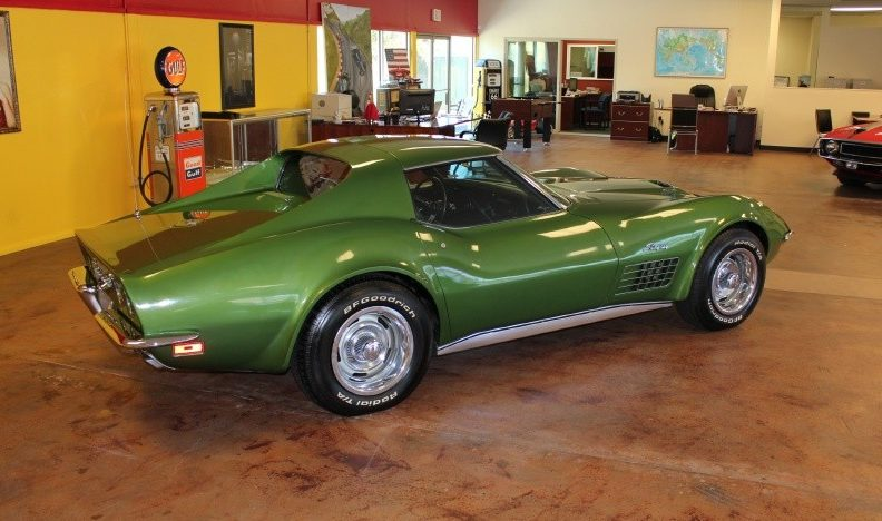 1972 Chevrolet Corvette 454 CI, 4-Speed presented as lot S78 at St. Charles, IL 2011 - image3