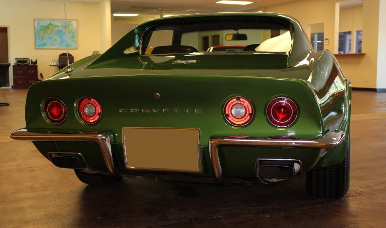 1972 Chevrolet Corvette 454 CI, 4-Speed presented as lot S78 at St. Charles, IL 2011 - image4