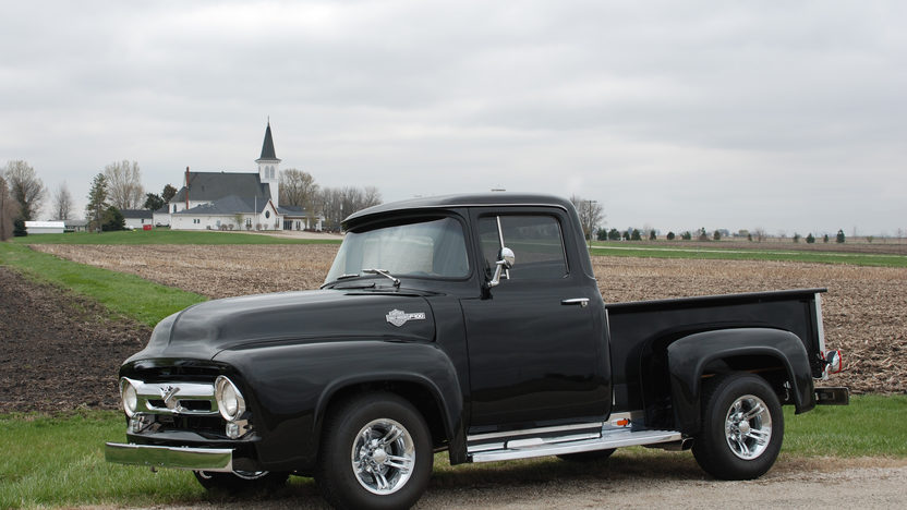 1956 Ford F100 Pickup 390 CI, Automatic presented as lot S79 at St. Charles, IL 2011 - image2