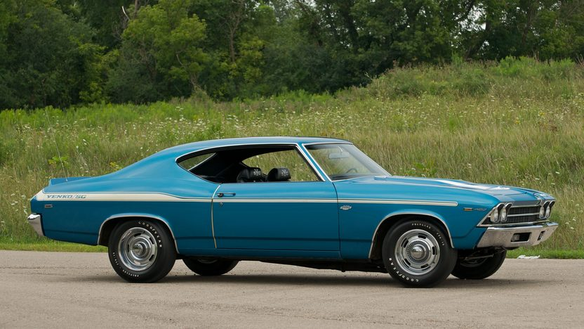 1969 Chevrolet Yenko Chevelle 427/425 HP, Automatic presented as lot S80 at St. Charles, IL 2011 - image11