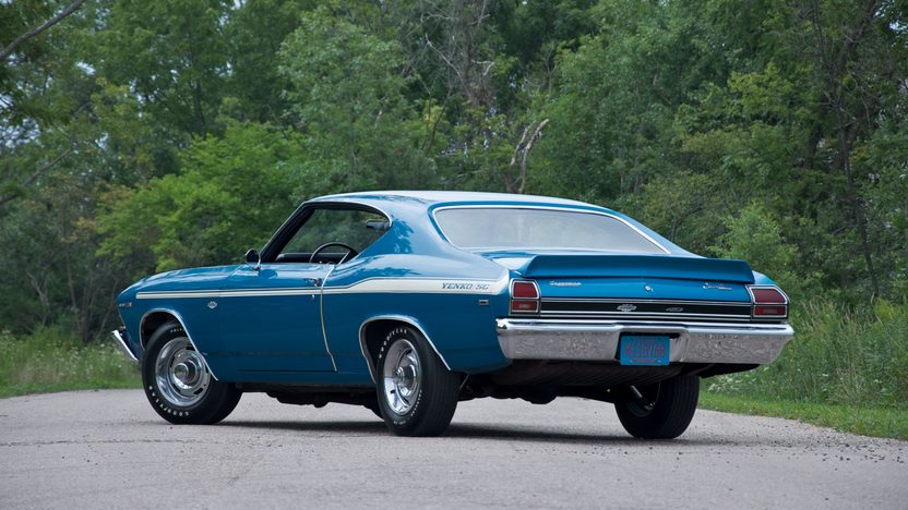 1969 Chevrolet Yenko Chevelle 427/425 HP, Automatic presented as lot S80 at St. Charles, IL 2011 - image3